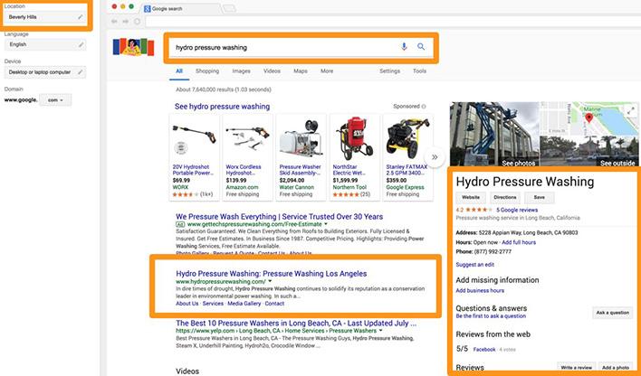 Hydro Pressure Washing Google