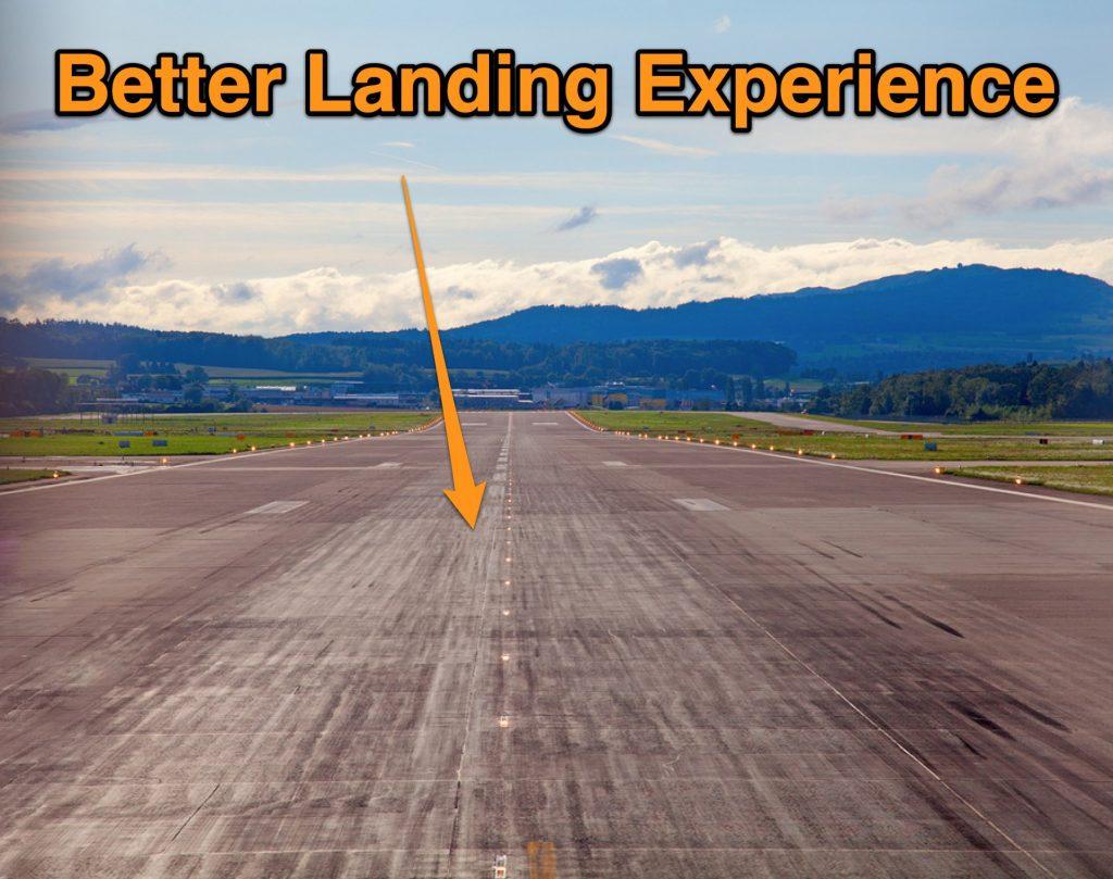 Better Landing Experience